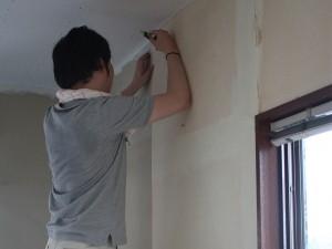 内装工事、クロス交換 日本エヌティアール